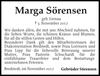 Marga Sörensen
