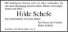 Hilde Schefe