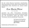 Eva Maria Wiese