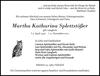 Martha Katharina Splettstößer