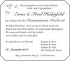 Erna Fred Hahnfeld