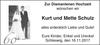 Kurt und Mette Schulz