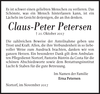 Claus-Peter Petersen