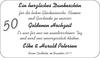 50 Goldene Hochzeit Elke und Harald Petersen