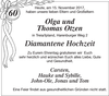 Olga und Thomas Otzen Diamantene