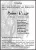 Rainer Hagge