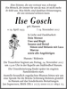Ilse Gosch