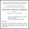 Dorothea (Dorle) Zolldann