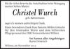 Christel Wurch