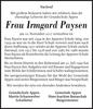Frau Irmgard Paysen