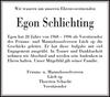 Egon Schlichting