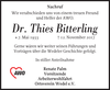 Dr. Thies Bitterling