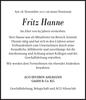 Fritz Hanne