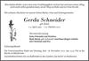 Gerda Schneider