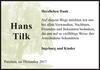 Hans Tilk