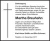 Martha Breuhahn