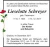 Lieselotte Schreyer