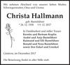 Christa Hallmann
