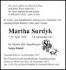 Martha Surdyk