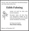Edith Fahning