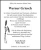 Werner Griesch