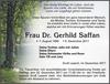 Frau Dr. Gerhild Saffan