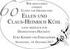 ellen und Claus-Heinri CH KüHl