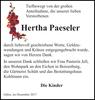 Hertha Paeseler