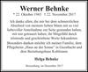 Werner Behnke