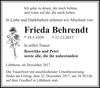 Frieda Behrendt
