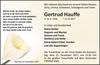Gertrud Hauffe