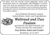 Waltraud und Uwe Paulsen