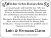 Luise und Hermann Clasen