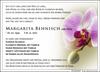 Anzeige für Margarita Behnisch