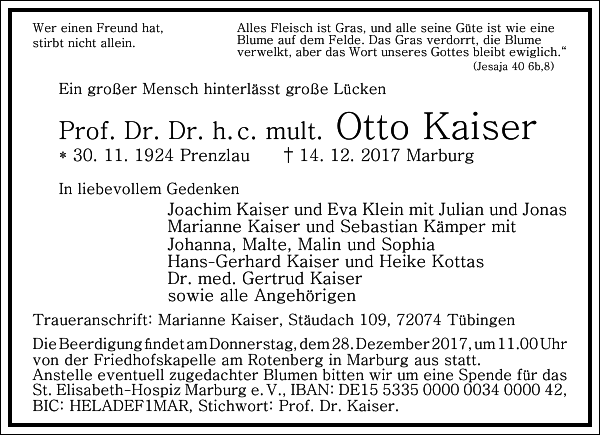 Otto Kaiser
