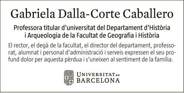 GABRIELA DALLA-CORTE CABALLERO