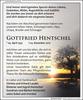 Anzeige für Gottfried Hentschel