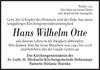 Hans Wilhelm Otte