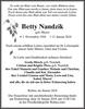 Betty Nandzik