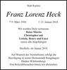 Franz Lorenz Heck