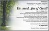Dr. med. Josef Groll