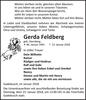 Gerda Feldberg