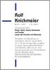 Rolf Knickmeier