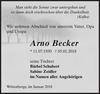 Arno Becker