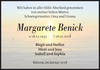 Margarete Benick