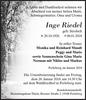 Inge Riedel