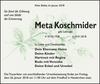 Meta Koschmider