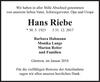 Hans Riebe