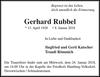 Gerhard Rubbel