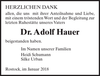 Dr. Adolf Hauer
